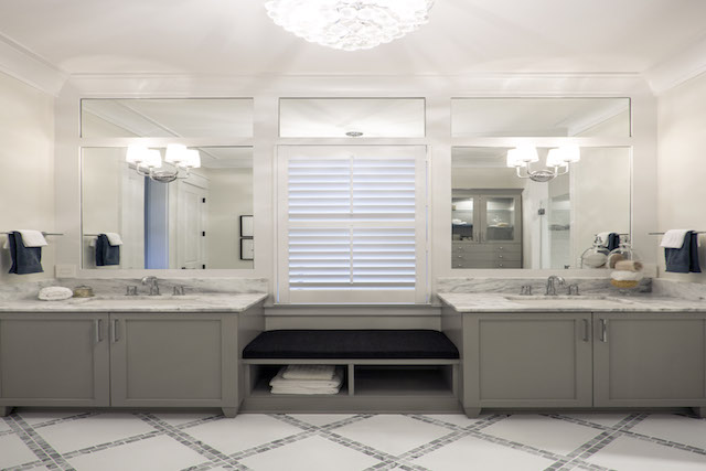 The Tangier Model Home Bathroom in Riverlights Wilmington, NC