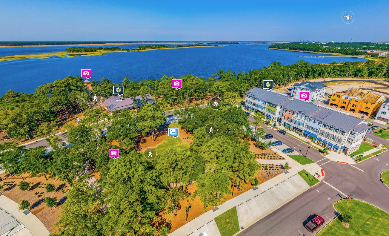 Map Of Riverlights Planned Community In Wilmington Nc