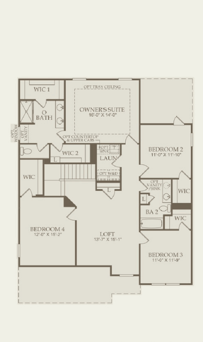Pulte - Continental Floor Plan 2nd Floor - 400x675 (1).png