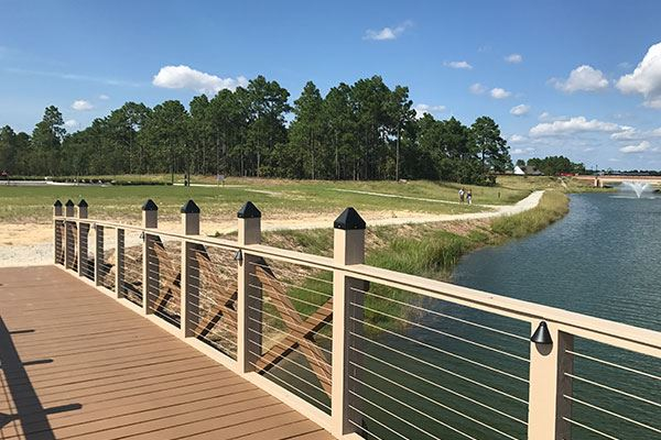 The Lake Loop at Riverlights Community Wilmington, NC